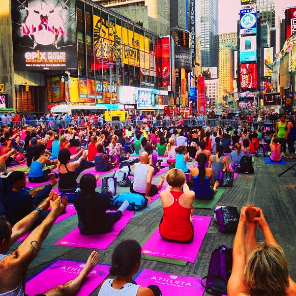 Solstice in Times Square 2013