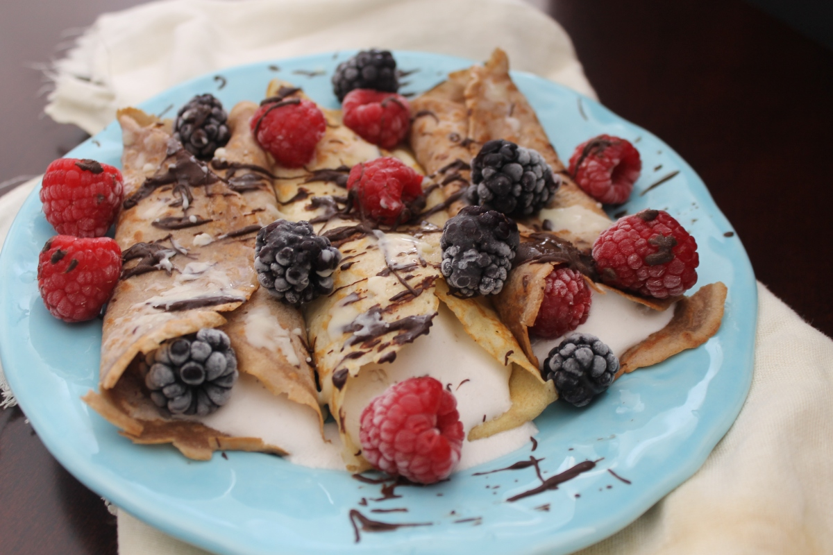 Oat Flour Crepes Recipe